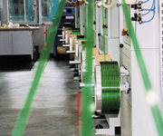 State of the art extrusion line