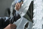 Découpage des coussins d'air Airpad